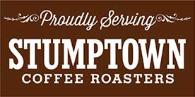 Stumptown coffee both hot and cold